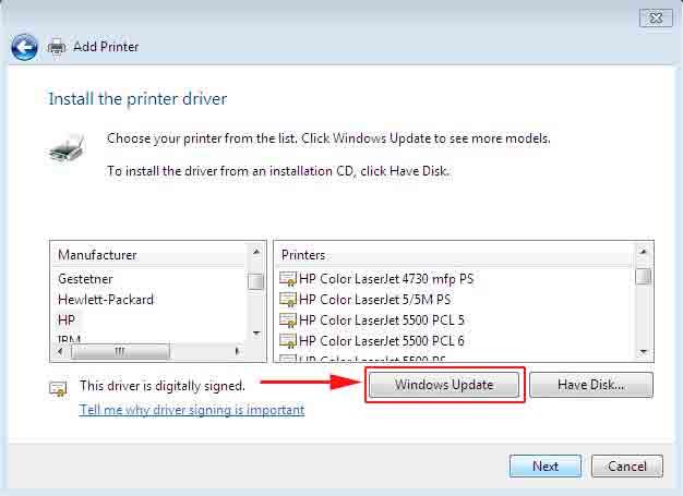 Hp Laserjet 1100 Printer Series Driver For Windows 7