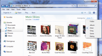 Windows 8 libraries don't sort/group by metadata (like ...