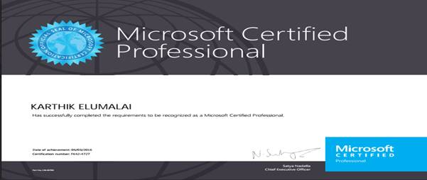 Tips to become Microsoft Certified Professional - TechNet Articles - certificate microsoft