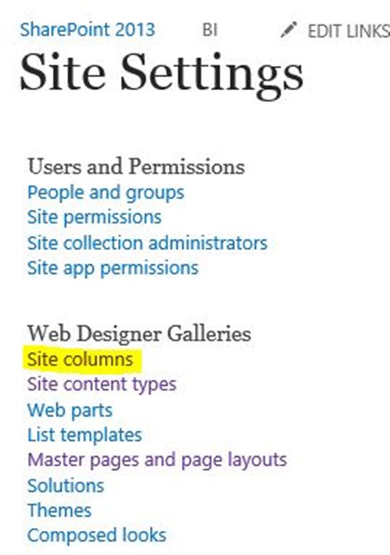 Build a custom SharePoint page template to display site columns