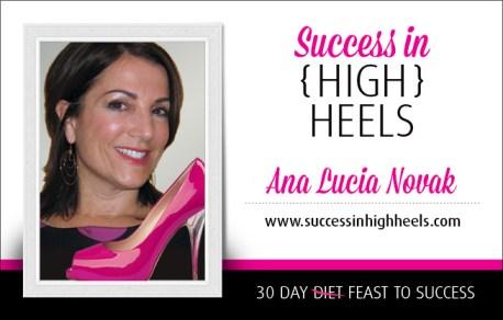 "Ana Lucia Novak, Co-author, ""Success in High Heels"""