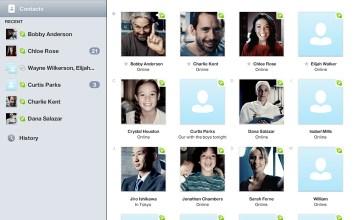 Skype for iPad. Photo Credit: Skype