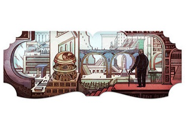Google Doodle Honors 112th Birthday Of Jorge Luis Borges