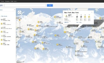 Google Adds Weather Layer and Cloud Coverage to Google Maps - Google Maps, Weather layer, cloud coverage, The Official Google Blog, Satellite widget