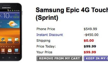 Walmart's Samsung Galaxy S II 'Epic 4G Touch' preorders at $99 - Samsung Galaxy S II, Epic 4G Touch, Sprint, Walmart, AT&T, T-Mobile