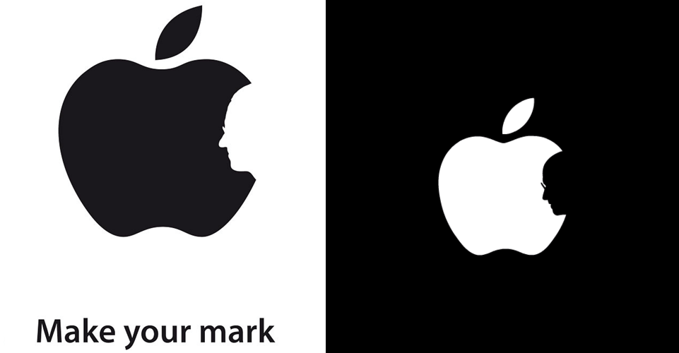 white apple logo png. jonathan mak clears he did not rip-off jobs tribute apple logo white png