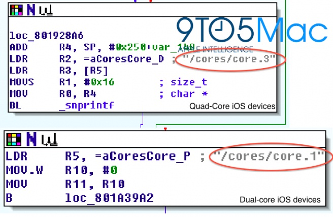 Apple Working on Quad-Core iPhone and iPad Devices - quad-core iPhone, quad-core iPad, Apple iOS 5.1 beta