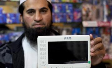 The Pakistan military makes the PACPAD 1 tablet. Image: B.K. Bangash (AP)