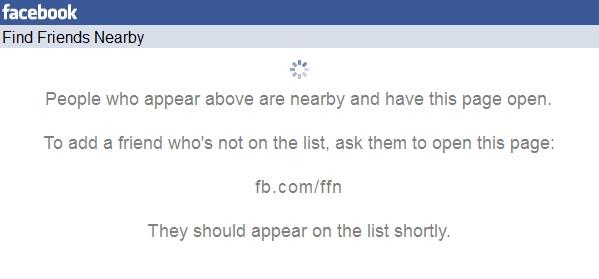 Friendshake, Facebook, new feature, find friends nearby, news