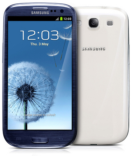 The Samsung Galaxy S3 may be the leading smartphone of 2012. (Image: o2 in Deutschland (CC) via Flickr)
