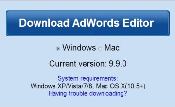Google AdWords Editor 9.9 Now Available To Download