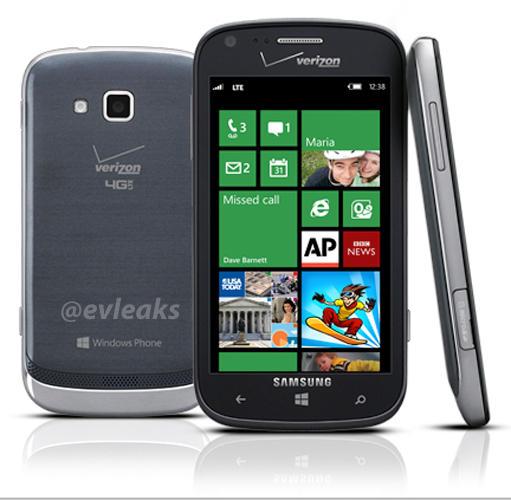 Verizon ATIV Odyssey, leak, Windows Phone 8