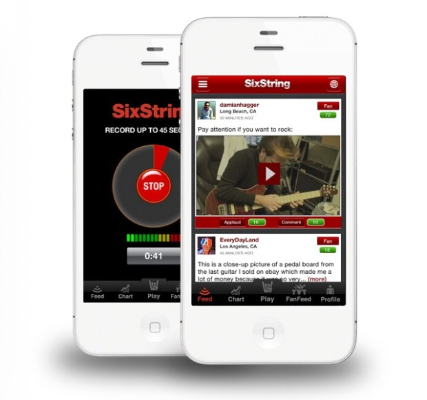 SixString -- The Social Networking App For Guitarists