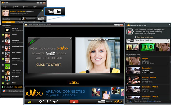 Social Video Chat Provider ooVoo Launches 'Watch Together'