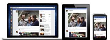 multiple platform News Feed redesign