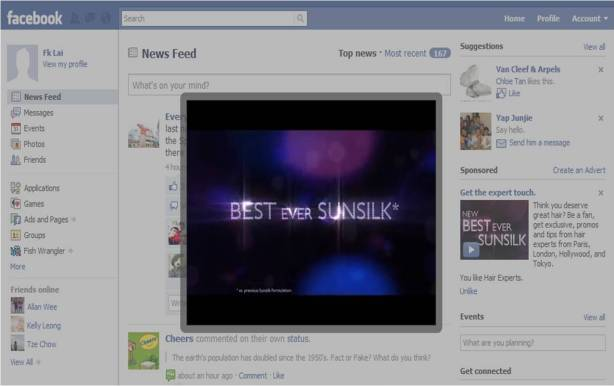 Facebook video ads will start showing up in user news feeds by July. (Image: via ihubmedia.com)