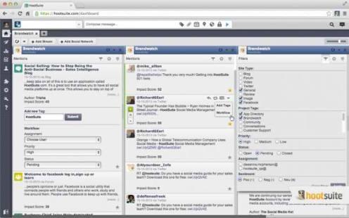 hootsuite brandwatch integration