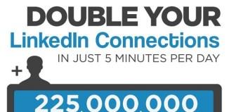 LinkedIn tips, infographic,