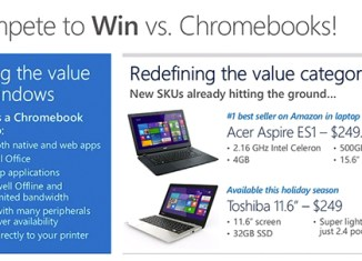 Acer Toshiba laptops