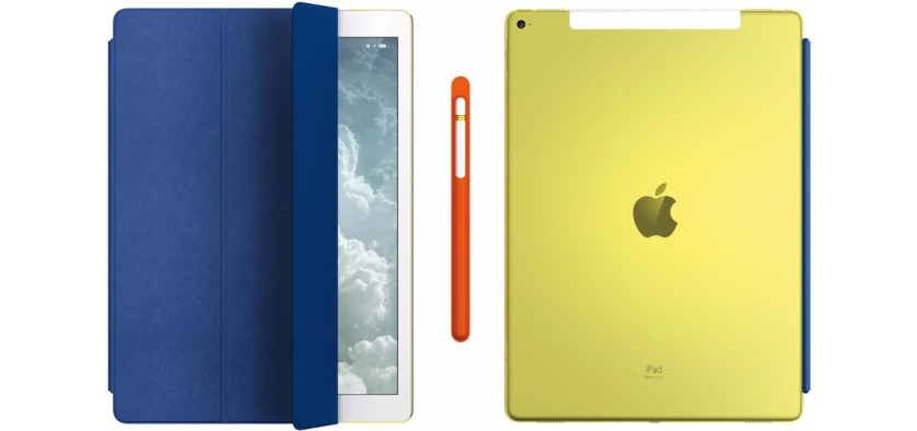 Yellow iPad Pro 12.9-inch one-off edition