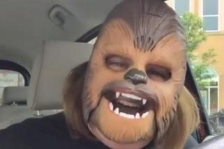 Kohl's surprises the woman behind the Chewbacca Mask Video by gifting Star Wars Treasure Trove
