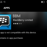 BBM app no longer available on the Windows Phone Store