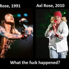 DMCA Copyright Notice: Axl Rose Failed to Remove Fat Axl Photos from the Internet