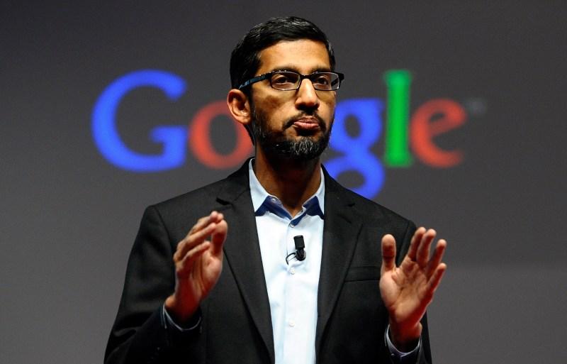 Google CEO sundar pichai privacy pixel 3a