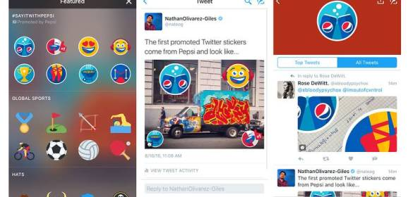Twitter's Promoted Stickers cost a whopping $500,000 for brands