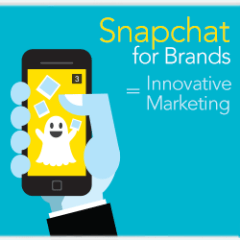 8 simple tips on how to use Snapchat to boost your business [Infographic]