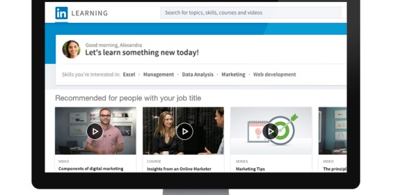 "LinkedIn aims to help individuals and businesses achieve more with ""LinkedIn Learning"""