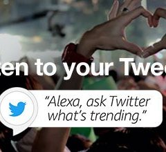 Twitter has a new app for Amazon's Alexa