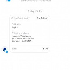 PayPal adds payment option within Facebook Messenger