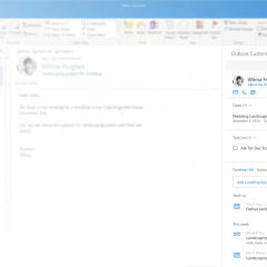 Microsoft launches Outlook Customer Manager