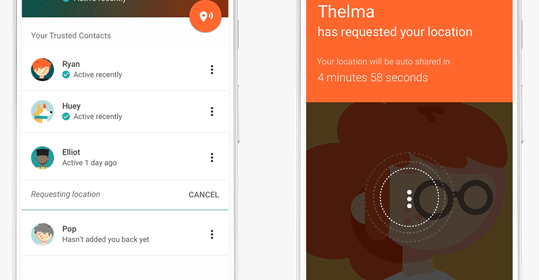 "Google's ""Trusted Contact"" is a new app for sharing location with close contact"