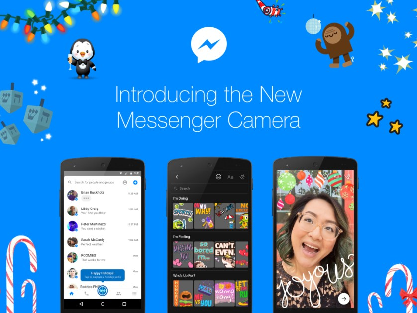 Facebook Messenger Camera Update - It Is All About Self Expression