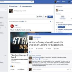 Facebook testing pop-up post on desktop