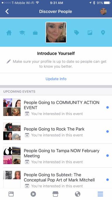 Facebook Rolls Out Discover People To Connect With Random People