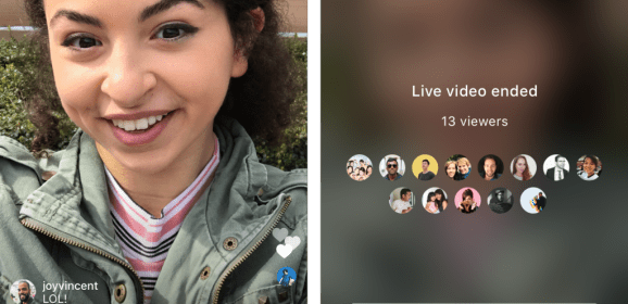 Instagram now lets you save live stream to your camera roll