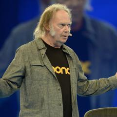 Neil Young has a new streaming service called Xstream