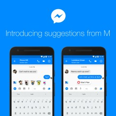 "Facebook's new AI called ""M"" will suggest features to use in chats"