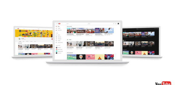 YouTube on the Web now offers you option of Material Design