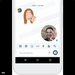 "Google Allo now has a ""Selfie Clips feature"" for capturing and sharing your personal GIF"