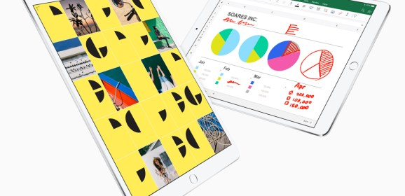 Apple unveiled a new 10.5-inch iPad Pro