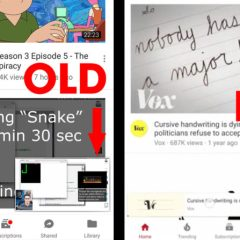 YouTube is testing a new interface that will make it easier to browse content