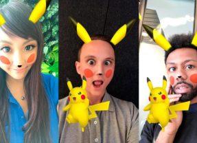 Snapchat Added Pikachu Lens For Pokemon Fans