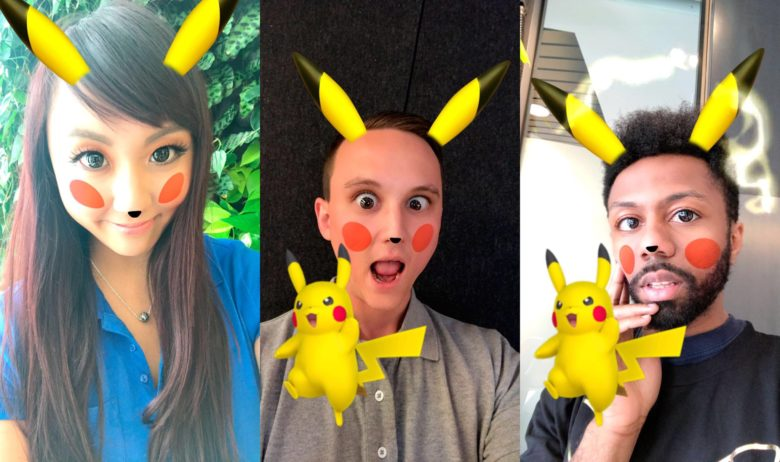 Snapchat Added Pikachu Lens For Pokemon Fans