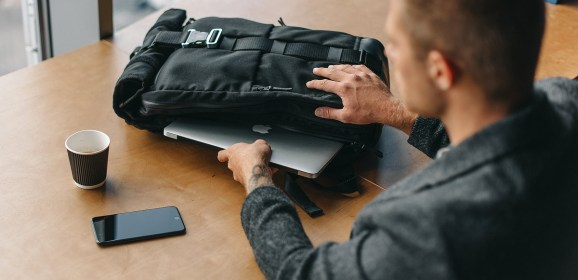 HURU: a city and travel backpack with a lifetime warranty