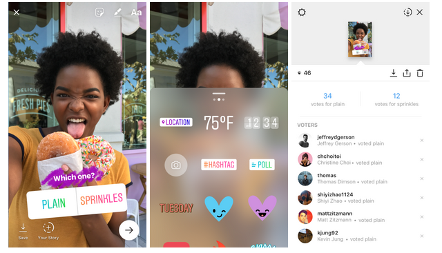 Instagram's New Features Allows You To Poll Your Friends