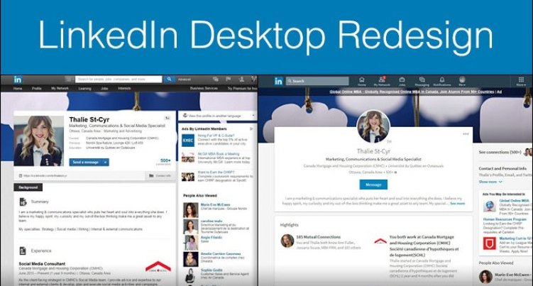Check out the cool new LinkedIn [Infographic]